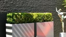Formes simples et lignes épurées pour ce jardin paysagiste