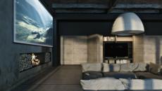 maison design style industriel et brut