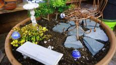 7 réaliser un joli mini jardin