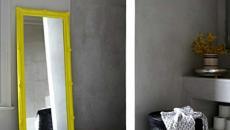 salle de bain design béton brut
