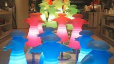Lumainaires multicolores led Slide