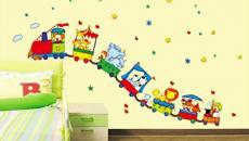 8 décoration avec stickers muraux spécial chambre bébé