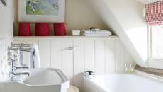 design salle de bain petite baignoire