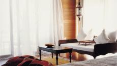 L'intérieur des suites de luxe