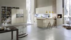 Cuisine design italienne aux lignes minimalistes