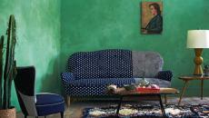 Séjour de mobilier design « patchwork »