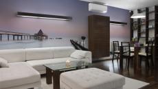Ambiance romantique grâce à ce papier peint panoramique