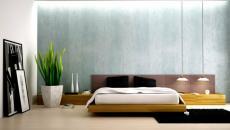 Design minimaliste pour cette chambre à coucher