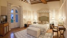 Une des 45 chambres de ce hotel de luxe