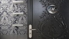 porte intérieure maison de luxe