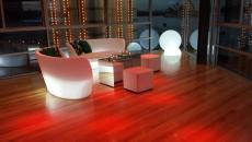 Mobilier design lumineux Slide
