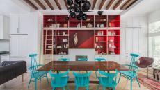 idées déco salle à manger chaises originales