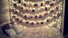 accessoire déco lumineux mural chambre à coucher