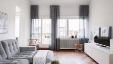 agrandir l'espace de vie grâce aux rideaux