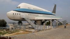 avion transformé en maison originale