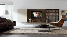 séjour minimaliste design italien