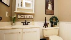 accessoires déco romantiques toilettes