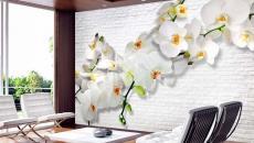 déco créative fleurs séjour moderne