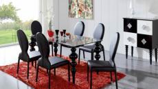 salle à manger moderne créative chaises