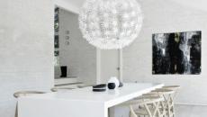 intérieur ambiance moderne en blanc