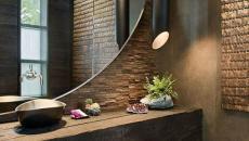 salle de bain moderne et luxueuse tamisée