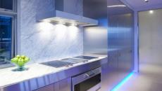 décorer la cuisine avec luminaire LED