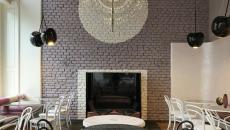 intérieur design d'un coffee shop