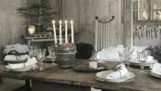 ambiance de Noël rustique scandinave