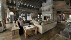 ambiance montagnarde chalet courchevel luxe