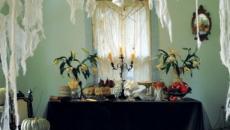 ambiance effrayant idées déco Halloween indoor intérieur maison