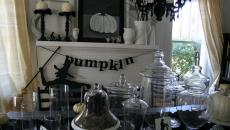 Décorer la cheminée pour Halloween