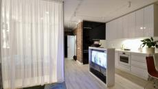 séjour petit appartement de ville