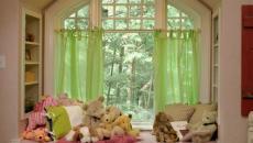 banc sous fenêtre aménagement chambre