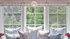 idées déco chambre aménagement banquette sous fenêtre
