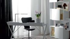 design minimaliste contemporain épuré bureau aménagement