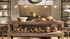 aménagement cuisine design steampunk retro