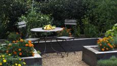 table ronde de bistro mobilier jardin