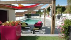 lieux outdoor de rêve maison moderne terrasse