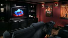 luxe salon de ciné privé