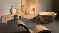 marbre imitant bois inspiration zen