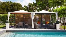 maison contemporaine piscine aménagement terrasse pergola