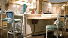mobilier de cuisine design baroque