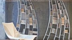 mobilier design art étagère salon