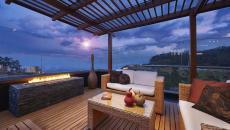 terrasse sur toit immeuble ameublement luxe
