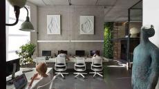 intérieur bureau office design contemporain