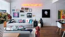 moderne et tendance déco séjour appartement citadin