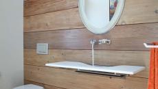 toilettes décorées minimalistes rustiques