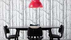 anglepoise suspension giant 1227 rouge framboise