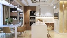 appartement moderne pièce ouverte