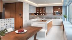 simple et belle cuisine moderne projet bois